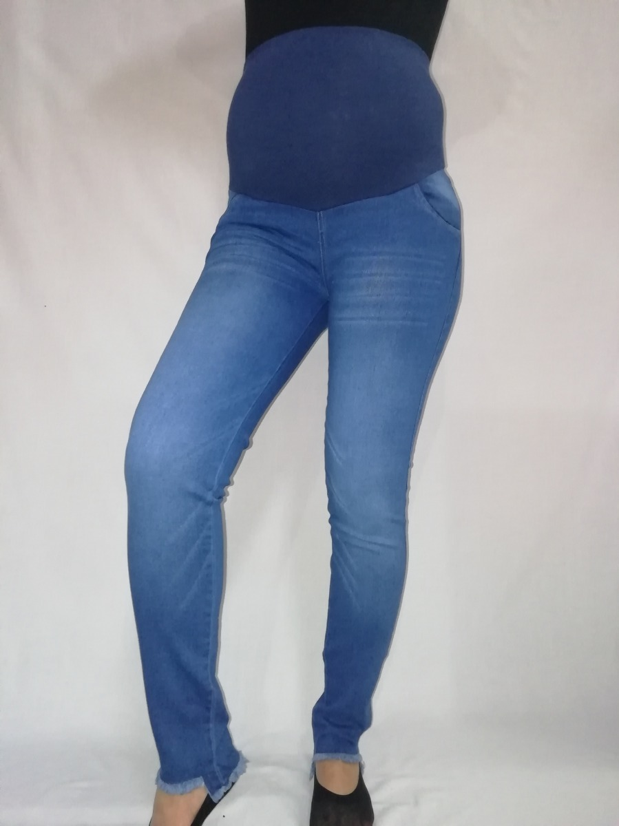 8cceed41f Jeans Materno-jeans Modernos Clásicos-ropa Materna-embarazo ...