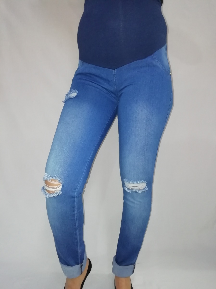 5c35d49f3 Jeans Materno-jeans Modernos-ropa Materna-embarazo-jeans -   108.000 ...