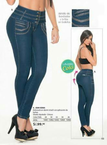 jeans modelos colombianos slim jeans del 28-34 a 99.90 !!