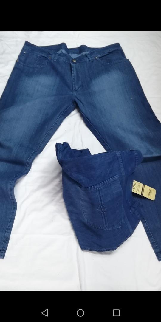 8b2918d77 jeans modernos hombre talle 50 al 60. Cargando zoom.