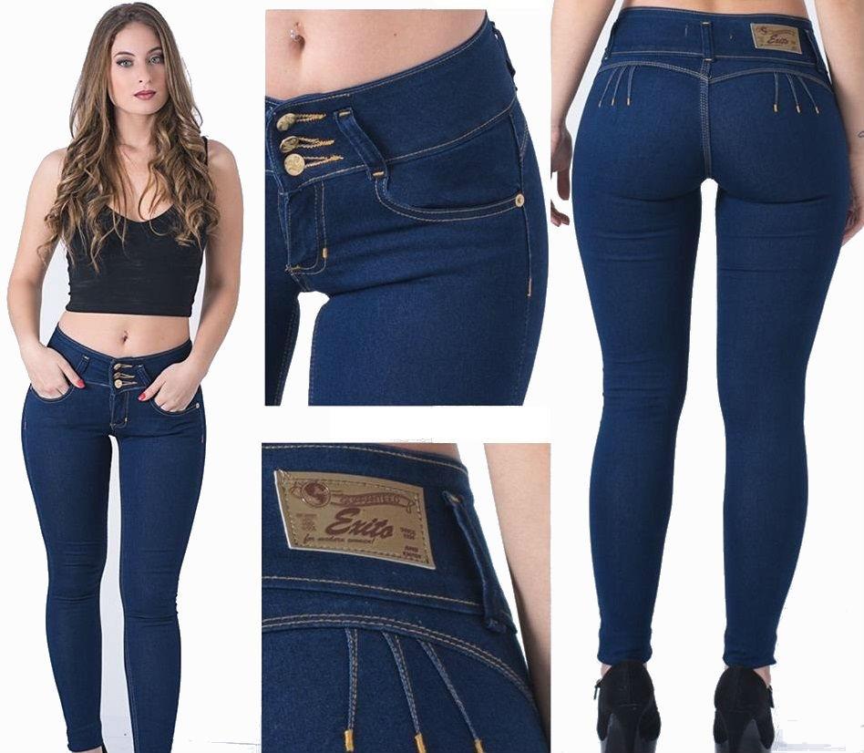 bastante agradable 72c08 2d9db Jeans Mujer Levanta Cola Elastizados Moda 2018