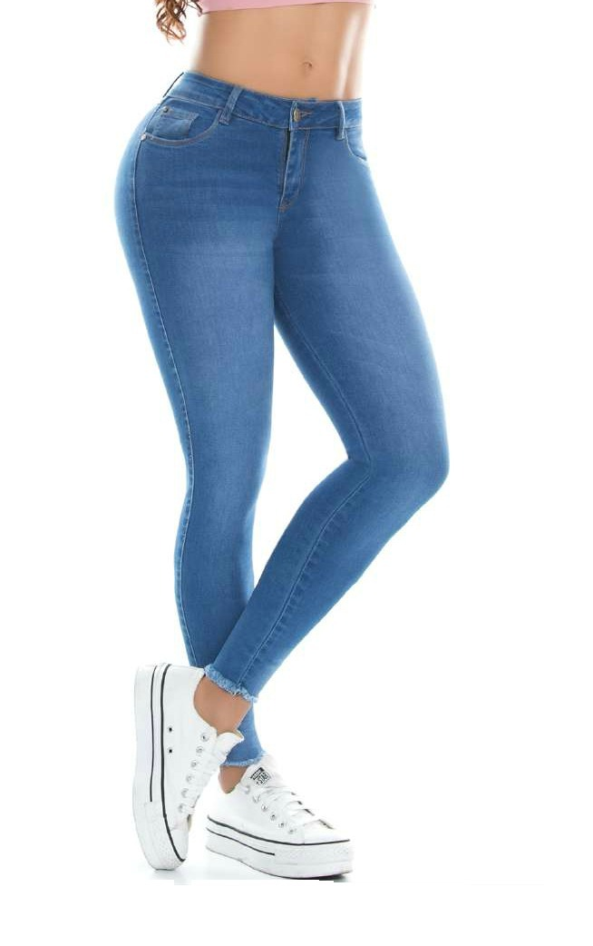 f23c0e5154776 Jeans Mujer Levanta Cola Push Up