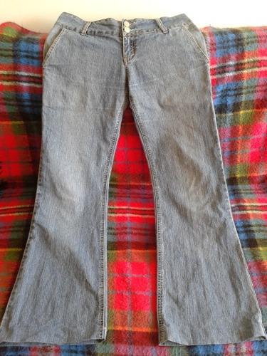 jeans mujer marca fes talla 38-40 corte recto 4 bolsillos