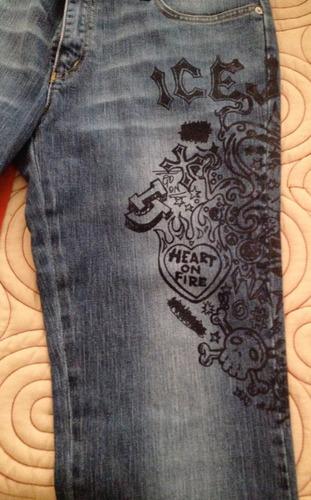 jeans mujer marca icejeans de iceberg italiano