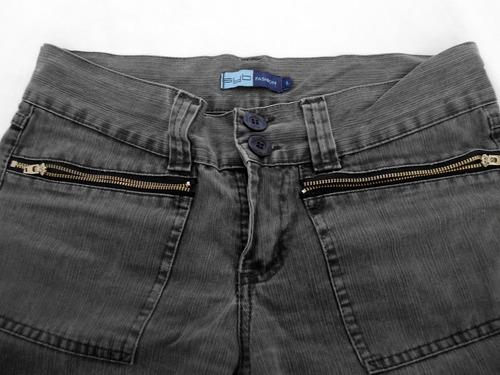 jeans mujer marca syb fashion bota elefante ancha