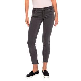 b03eef44d279 Jeans Mujer Pantalón Ajustado Detalles Sobrecosturas Roxy