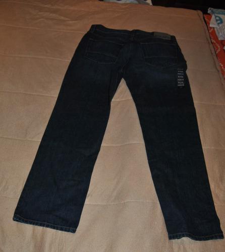 jeans nautica original talla 34 cintura 30 largo  corte rect