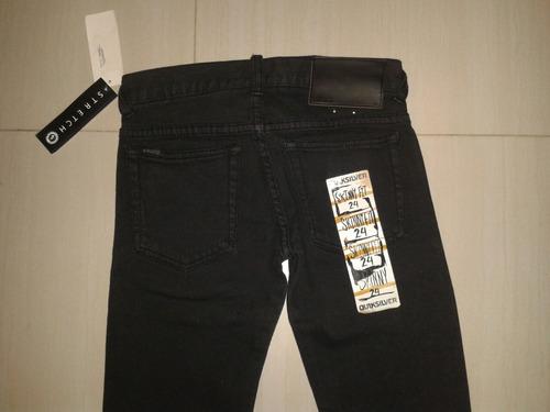 jeans negro de dama quiksilver