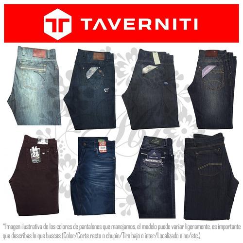 jeans nuevos taverniti originales hombre directo de fábrica