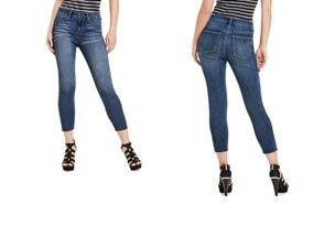 2dc307b72 Jeans Original Guess Deslavado Addisyn Skinny Envio Gratis