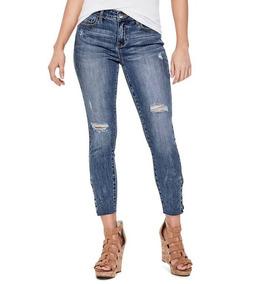 b969824ff Jeans Originales Guess Roto Skinny Rikki Envio Gratis Oferta