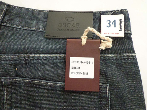 jeans oscar de la renta low rise