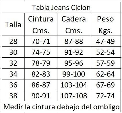 Colombiano Mezclilla Mujer Palazzo Enterizo Jeans Up 02 Push Y7gvmIbfy6