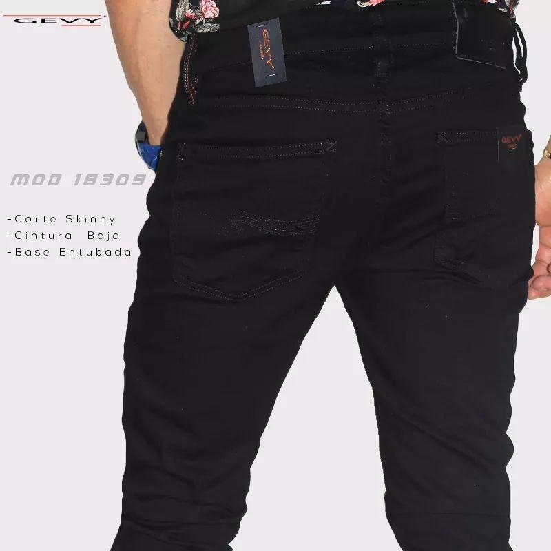6d7c67347b4ab jeans pantalón de mezclilla para hombre moda skinny fit 0003. Cargando zoom.