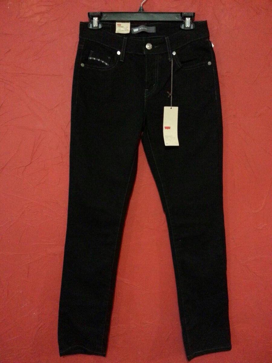 diseño de variedad moderno y elegante en moda calidad real Jeans Pantalon Levis Negro Skinny Stretch Casual Urbano C120