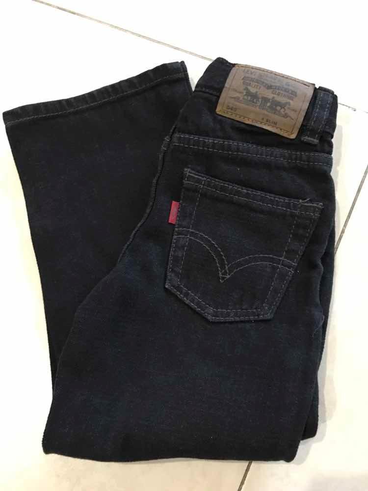 4 549 Alimento Niño Negro Pantalón Levis Modelo Talla Jeans MVpGqjzLSU