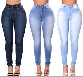 09f81b27d Jeans Pantalon Para Mujer Moldeador De Cuerpo Ajustado