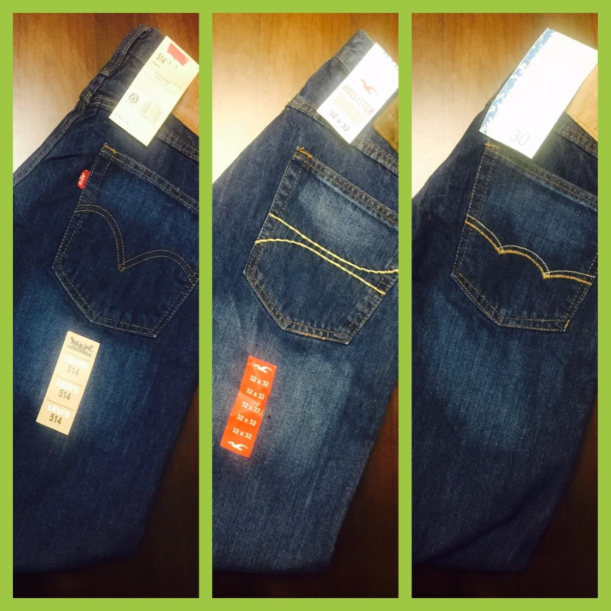 Pantalones Hollister Originales
