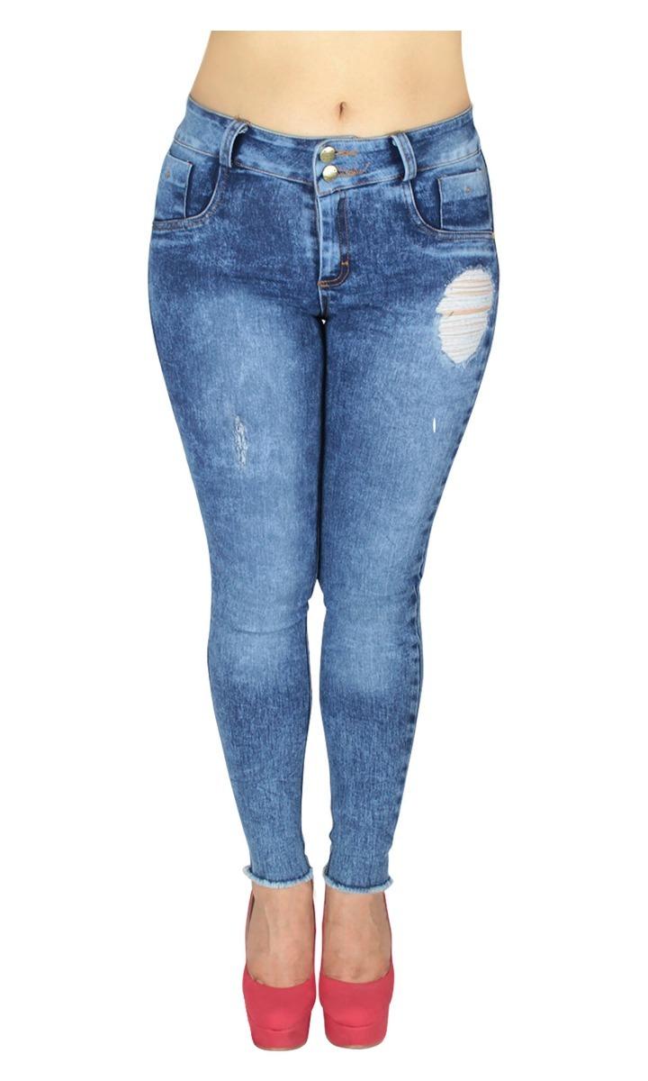 4d001160b55 dama de moda pantalones zoom Cargando mezclilla jeans para mujer frozen  w6AOFxT