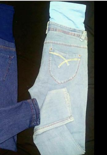 jeans pantalones prenatal embarazo materno
