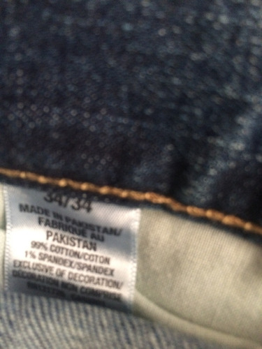 jeans para caballero slim aeropostale original nuevo 34x34