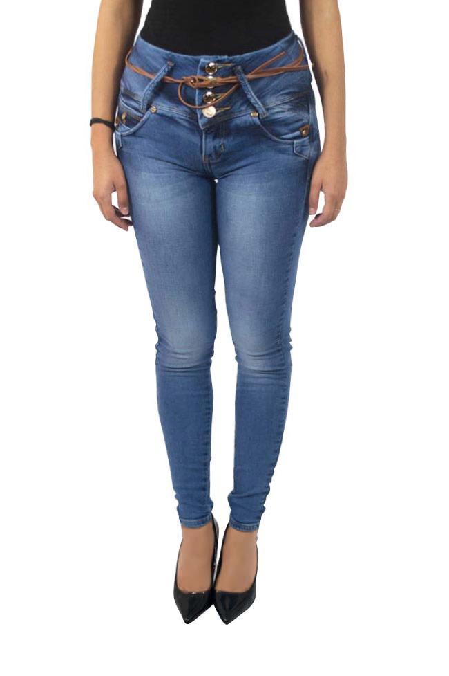 30c5f40b03 Jeans Para Dama De Corte Entubado En Color Azul -   531.00 en ...