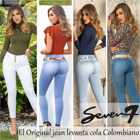 ac2bcda7d2 Jeans Levanta Cola 7 Marcas - Jeans para Mujer al mejor precio en ...