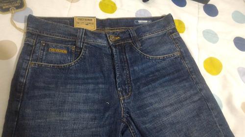 jeans para hombre chevignon 100% originales envio gratis