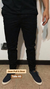 f679982478 Jeans Chupin Roto Pull Bear - Pantalones