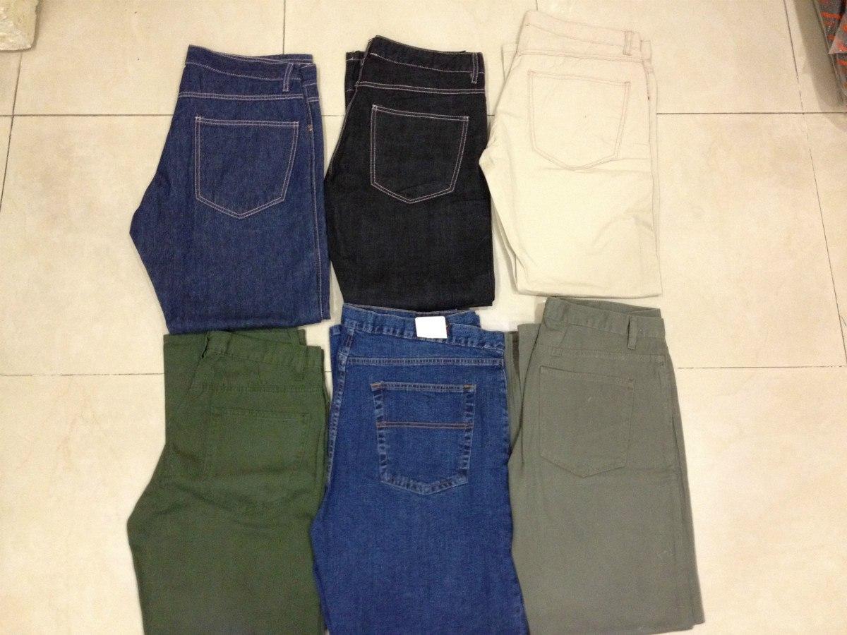 92636f213 Jeans Para Hombre Marca Inidgo 6 Colores Premium Denim -   249.00 en ...