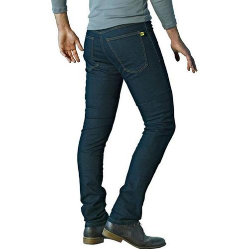 jeans para motocicleta drayko twista p/hombre azul 38 usa
