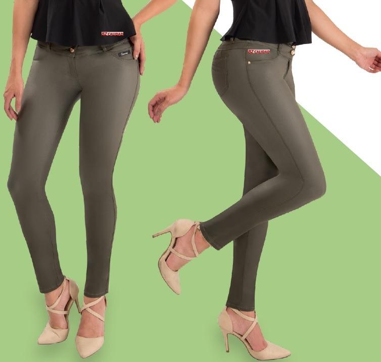 2862cd68133b Jeans Para Mujer ¡jean Efecto Cuero ¡envío Gratis Colombia!