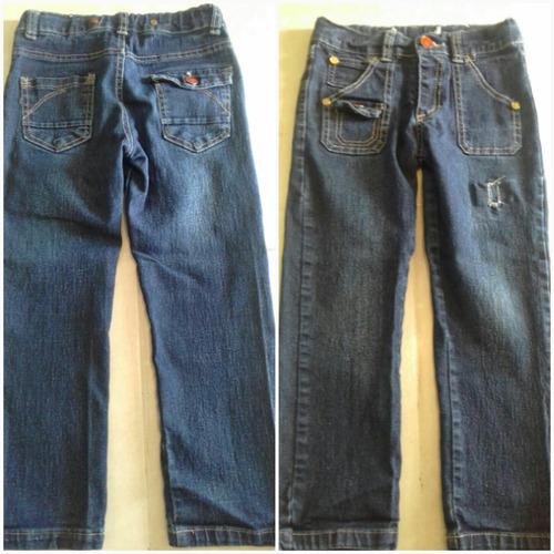 jeans para niña talla 6