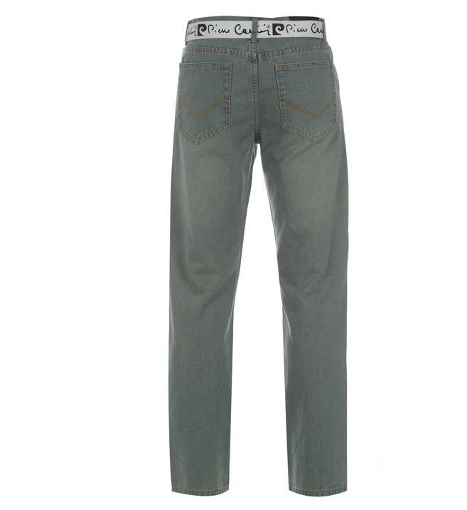 jeans pierre cardin belted original nova importada p. Black Bedroom Furniture Sets. Home Design Ideas