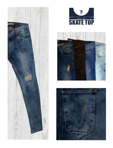 jeans, polos y short skate top