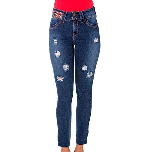 05e7663eb8 Jeans Pry Njp0353 Color Mezclilla Dama Pv -   581.00 en Mercado Libre