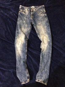 7a75e8653 Jeans Pull And Bear Pantalón De Mezclilla P&b Skinny