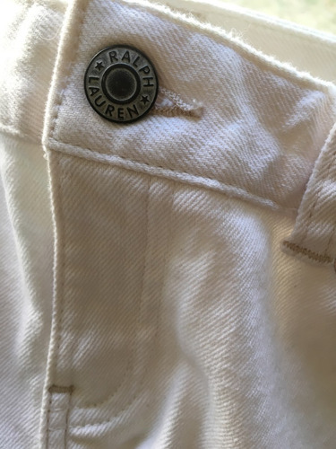 jeans ralph lauren niña blanco 12años