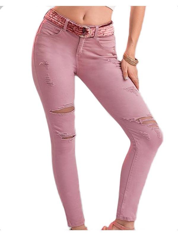 jeans rasgados paris hilton push up super ajuste de dama. Cargando zoom. 7551ff87dd07