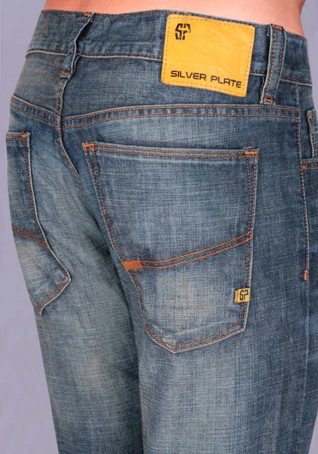 Jeans Silver Plate Marco 851305 - $ 549.00 en Mercado Libre