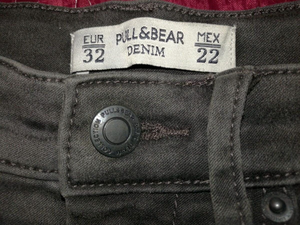 Jeans Skinny De Tiro Alto Pull bear Talla 22 Denim Impecable ... 46d6f6fc3f29