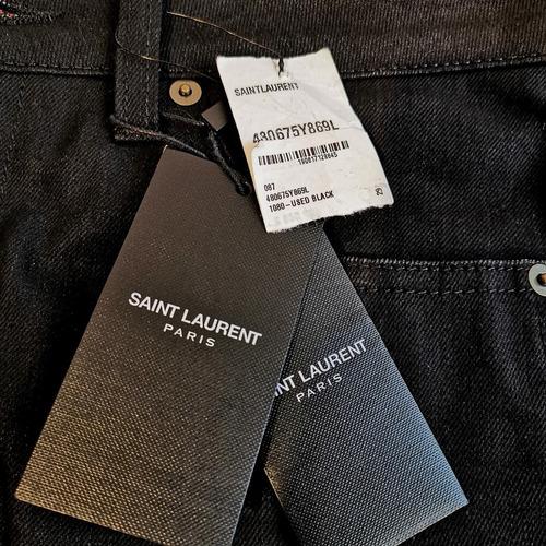 jeans skinny mujer saint laurent nuevos retail 650 usd