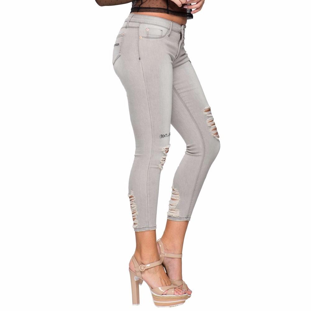 jeans strech de mujer paris hilton rasgados nueva temporada. Cargando zoom. e2400ceffa02