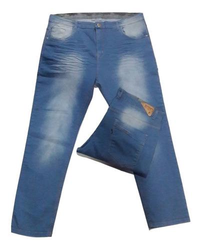 jeans talle especial chupin elastizado 50 al 60 be yourself