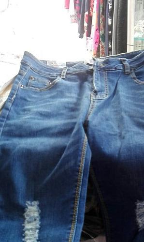 jeans tiro alto tallas grandes... lycrado