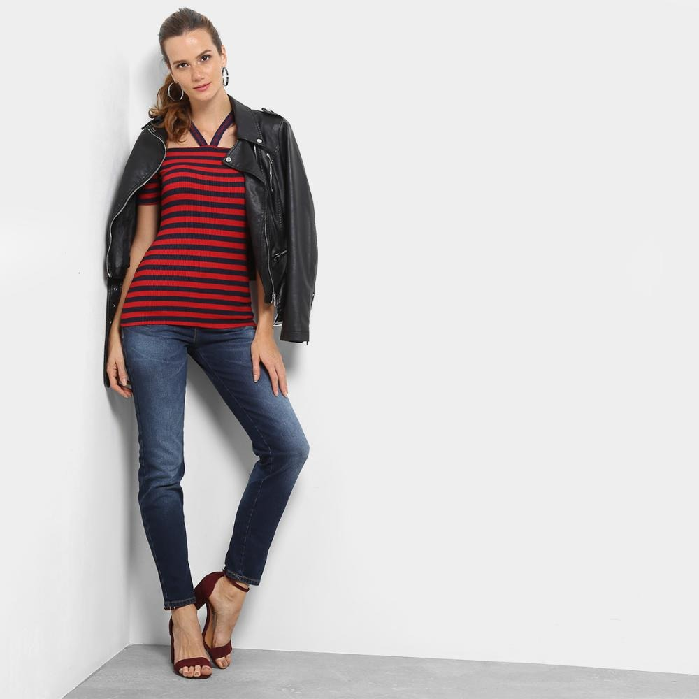 d4d544c0b Carregando zoom... calça jeans skinny triton fátima cintura média feminina