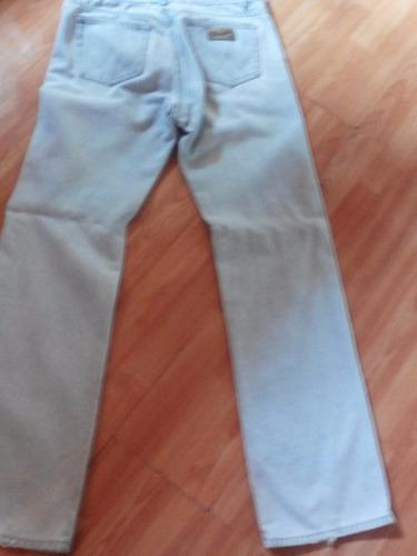 jeans wrangler celeste modelo clásico antiguo hombre