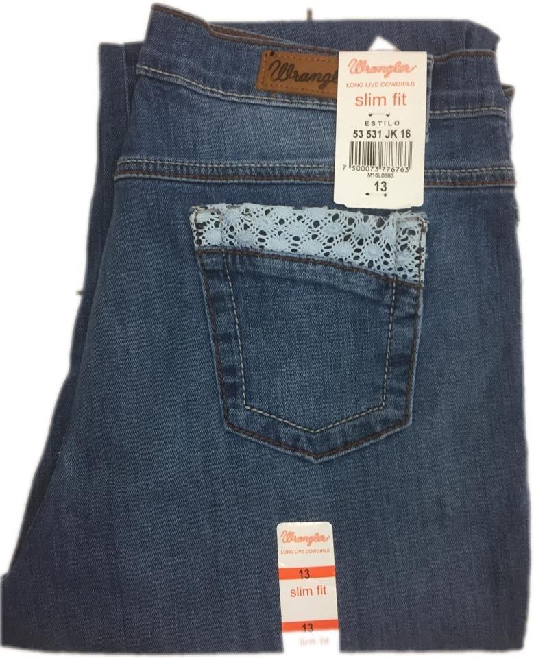 e7417693489 Jeans Wrangler Dama Low Rise Ropa El Toreo -   550.00 en Mercado Libre