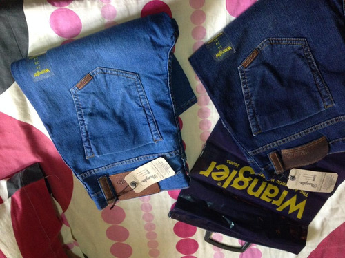jeans wrangler original 304(stretch). talla 34