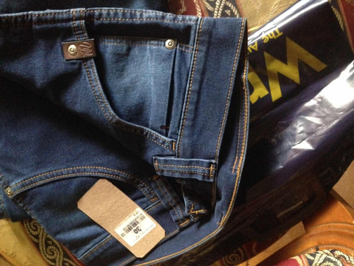 jeans wrangler original, serie 304, talla 30(stretch)